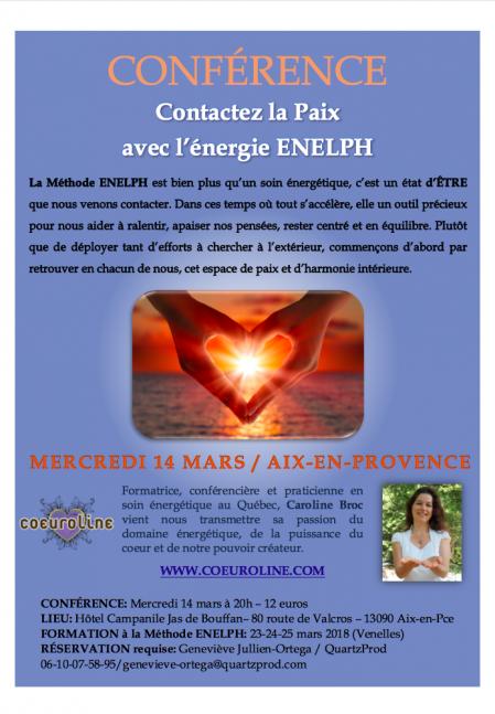 Conference enelph aix 1