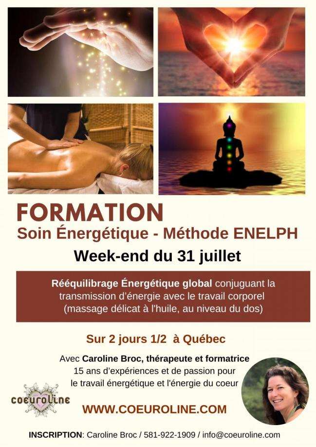 Formation soin energetique