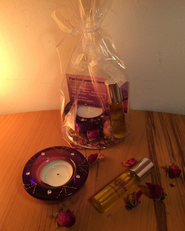 Parfum bougie coeuroline1